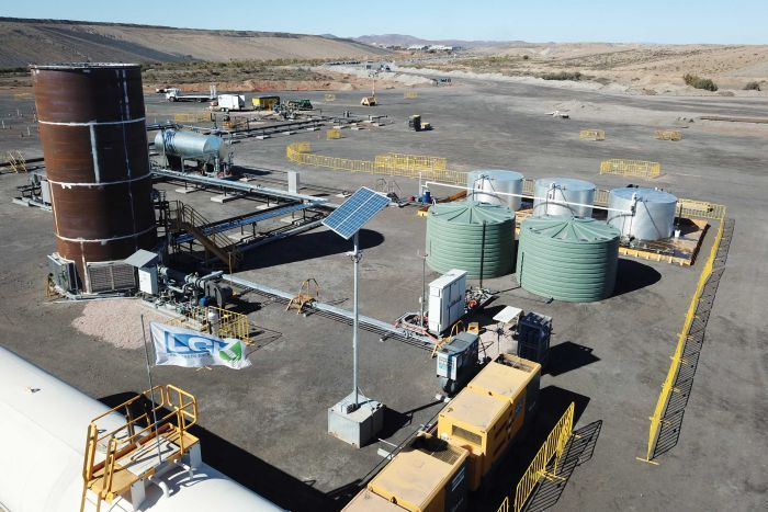 Leigh Creek Energy coal gasification project in South Australia's far north.
