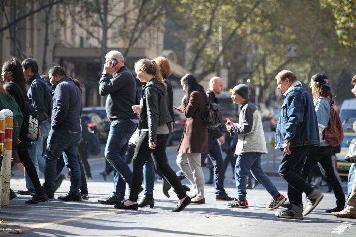 people in the street